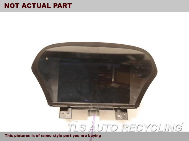 2012 Acura Tl Navigation Gps Screen  (DISPLAY SCREEN), NAVIGATION