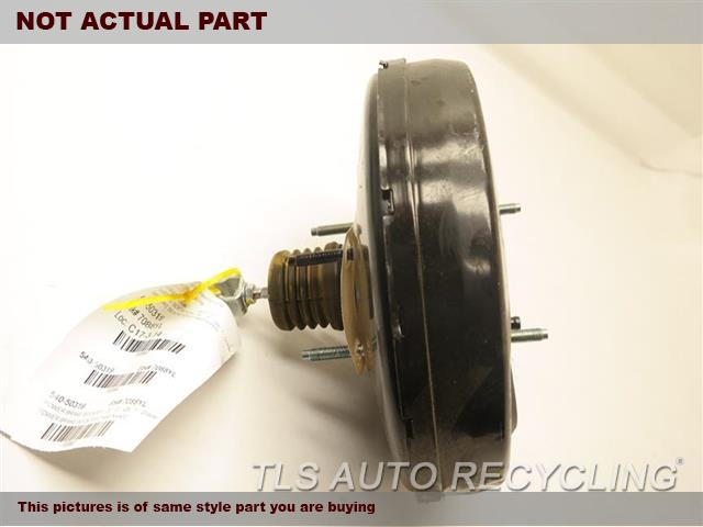 2012 Acura TL Brake Booster. POWER BRAKE BOOSTER 01469TK4A00