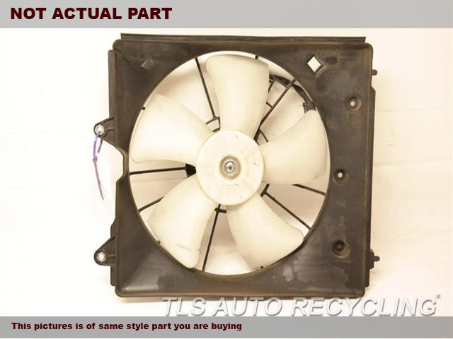2012 Acura TL Rad Cond Fan Assy. FAN ASSEMBLY, RADIATOR (LH)