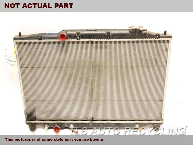 2012 Acura TL Radiator. AT