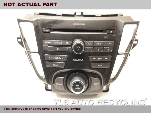 2012 Acura TL Radio Audio / Amp. RADIO ASSEMBLY 39176-TK4-A32ZA