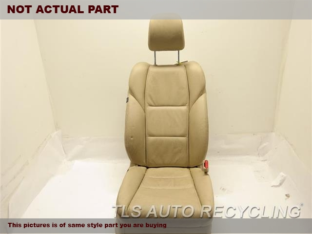 2012 Acura TL Seat, Front. 81126TK4A13  81131TK4A11ZB  81129TK4A11ZB  GREY PASSENGER FRONT LEATHER SEAT
