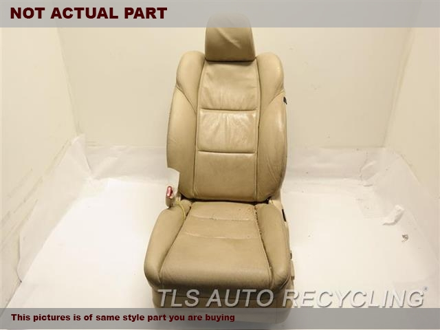 2012 Acura TL Seat, Front. 81126TK4A13   81531TK4A11ZB  81129TK4A11ZB  GREY DRIVER FRONT LEATHER SEAT
