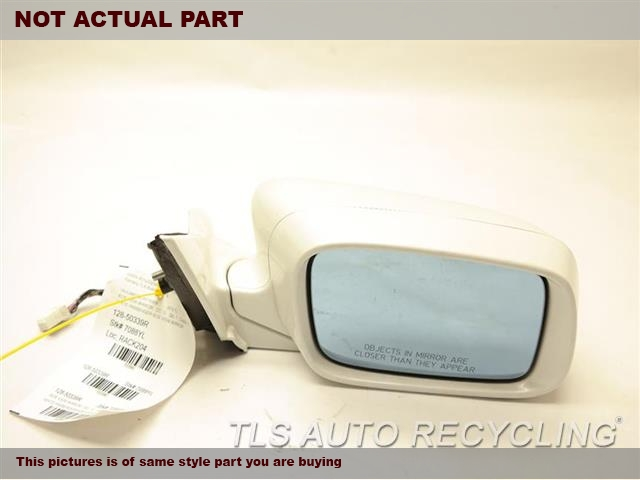 2012 Acura TL Side View Mirror. 76200TK4A01SILVER PASSENGER SIDE VIEW MIRROR