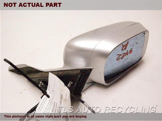2012 Acura TL Side View Mirror. RH,BLK,PM,POWER, (HEATED), R.