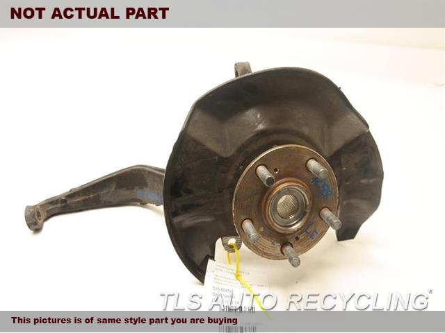 2012 Acura TL Spindle Knuckle, Fr. LH