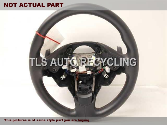 2012 Acura TL Steering Wheel. BLACK STEERING WHEEL 78501TK4A82ZA