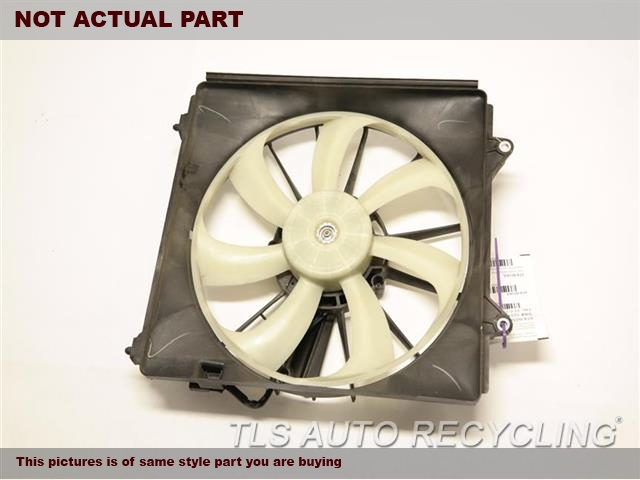 2016 Acura TLX Rad Cond Fan Assy. LH,FAN ASSEMBLY, 3.5L, RADIATOR