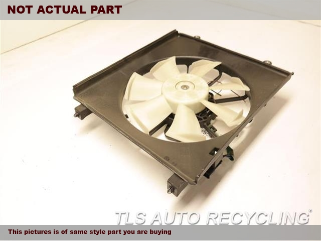 2015 Honda Accord Rad Cond Fan Assy. RH,FAN ASSEMBLY, 2.4L, TOYO MANUFAC
