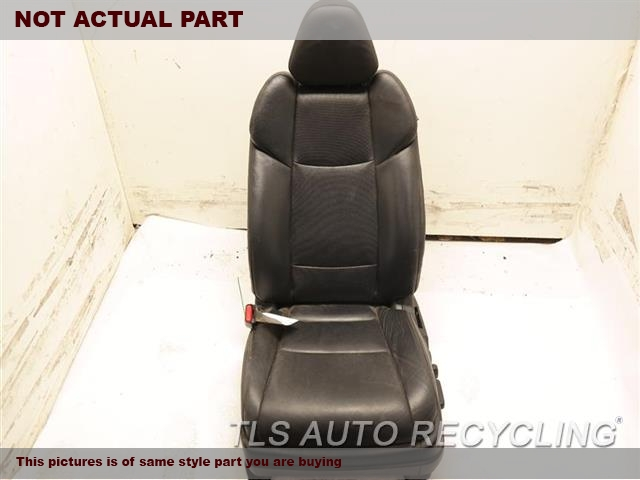 2017 Acura Tlx Seat, Front  LH,BLK,LEA,(ELECTRIC), (LEATHER)