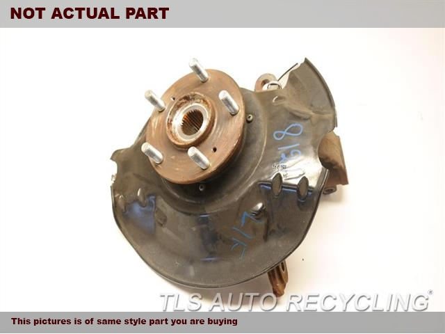 2016 Acura TLX Spindle Knuckle, Fr. LH,FWD, L.