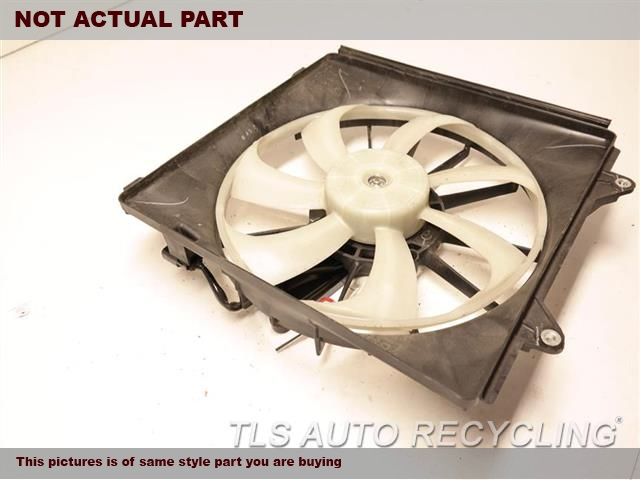 2017 Acura Tlx Rad Cond Fan Assy  RH,FAN ASSEMBLY, 3.5L, CONDENSER