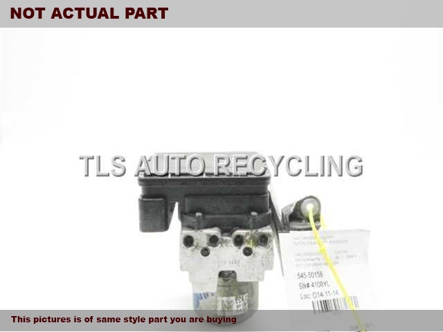 2006 Acura TSX Abs Pump. ABS,(VEHICLE STABILITY ASSIST), AT