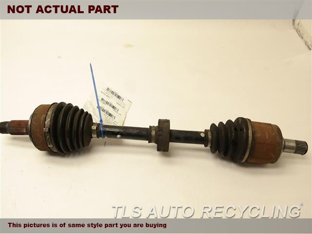 2009 Acura TSX Axle Shaft. DRIVER FRONT AXLE SHAFT 44306TA0A50