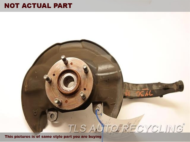 2009 Acura TSX Spindle Knuckle, Fr. 51210TA0010 44600TA0A00 PASSENGER FRONT KNUCKLE W/HUB