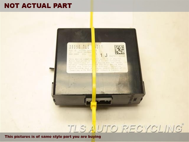 2009 Acura TSX Chassis Cont Mod. 39350TL2A01 TPMS CONTROL UNIT