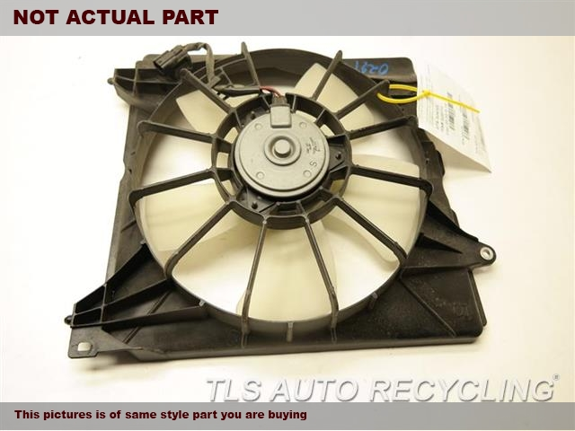 2009 Acura TSX Rad Cond Fan Assy. 19020RCJA01 19015RL5A01 19030R74003DRIVER RADIATOR FAN ASSEMBLY