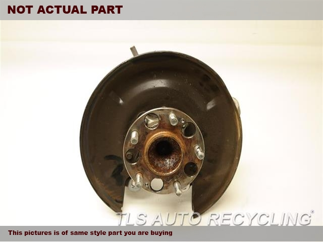 2009 Acura TSX rear nuckle / stub axle. 52210TC0T00  42200TA0A51         PASSENGER REAR KNUCKLE W/HUB