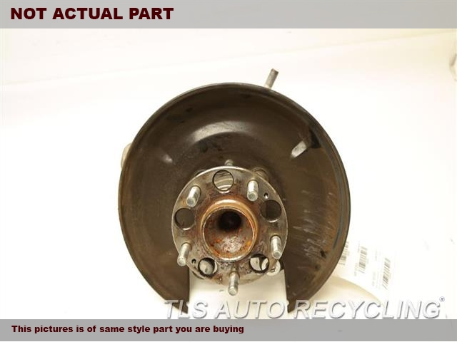 2009 Acura TSX rear nuckle / stub axle.  52215TC0T00  42200TA0A51  DRIVER REAR KNUCKLE W/HUB
