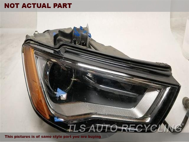 2015 Audi A3 AUDI Headlamp Assembly. NIQ BOTTOM SECTION HAS ONE DAMAGED CLIP- MISSING BULDRH,XENON (HID), SELF ADJUSTING