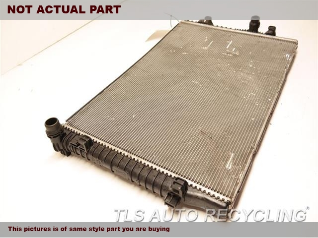 2015 Volkswagen Golf Radiator  HTBK, BASE, GASOLINE