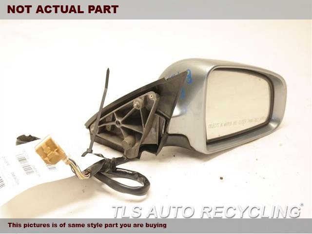 2007 Audi A4 AUDI Side View Mirror. RH,BLK,PM,POWER, SDN, (PAINTED FINI