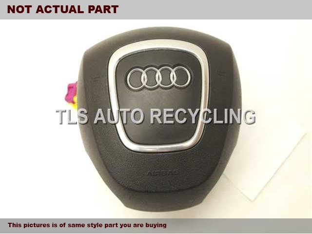 2008 Audi A4 AUDI Air Bag. 8E0880201BLBLACK STEERING WHEEL AIR BAG