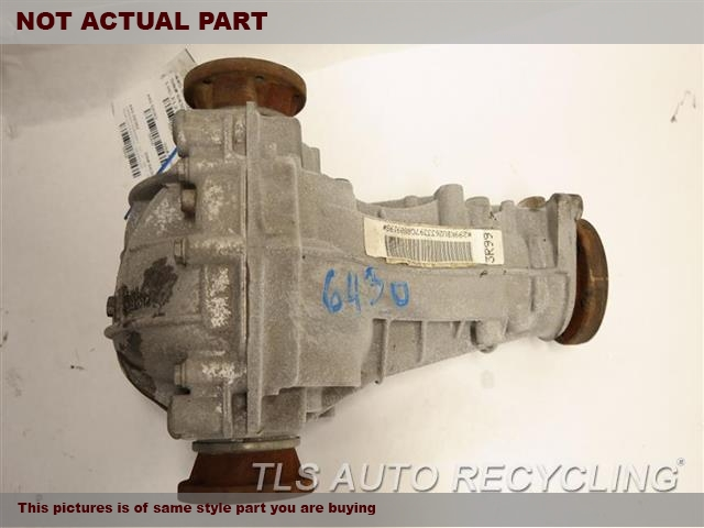 2009 Audi A4 Audi Rear Differential  REAR AXLE, SW, 2.0L, (ID KBU)
