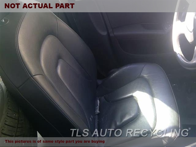 BLACK DRIVER FRONT LEATHER SEAT