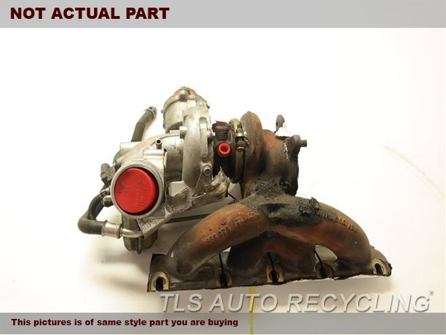 2015 Audi Q5 AUDI . 06H145702RTURNBO CHARGER W/EXHAUST MANIFOLD