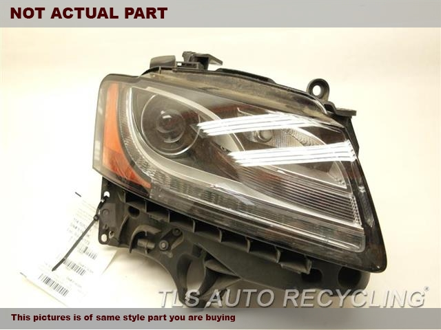 2010 Audi S5 AUDI Headlamp Assembly. 8T0941030AMPASSENGER HID HEADLAMP COMPLETE