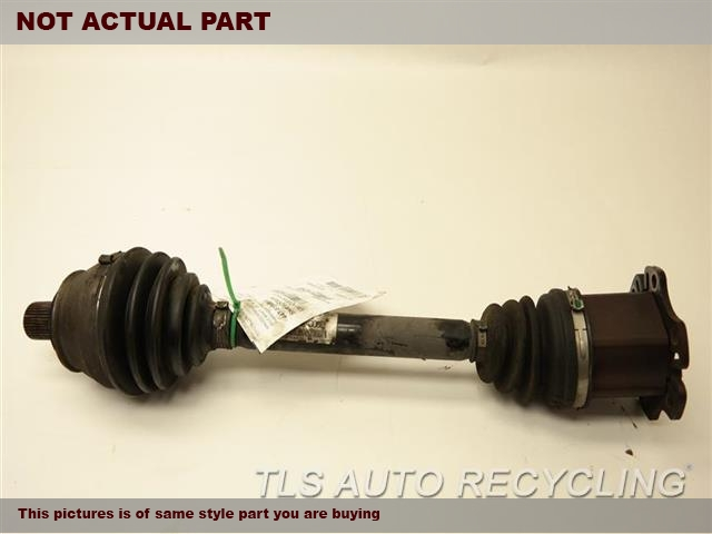 2008 Audi A6 AUDI Axle Shaft. PASSENGER FRONT AXLE SHAFT