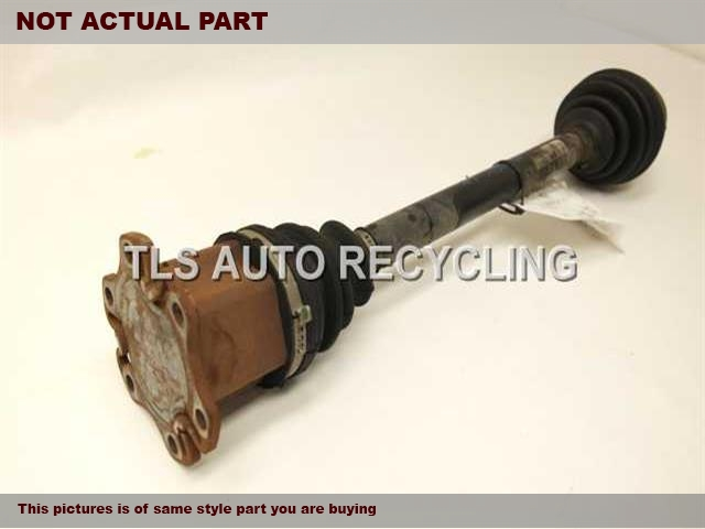 2008 Audi A6 AUDI Axle Shaft. DRIVER FRONT AXLE SHAFT 4F0407271J