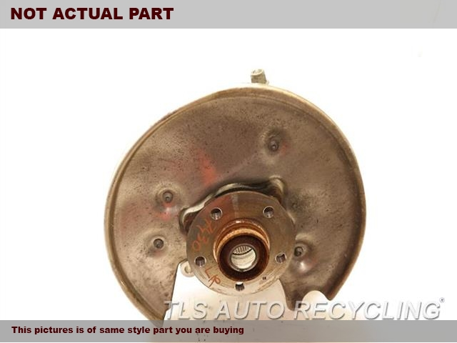 2008 Audi S5 AUDI rear nuckle / stub axle. LH