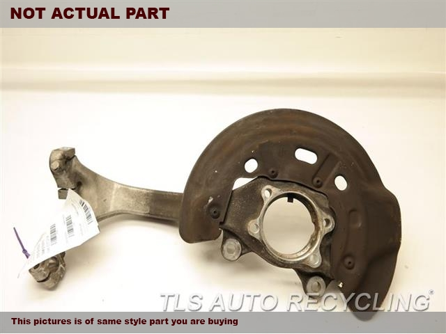 2007 Audi A8 AUDI Spindle Knuckle, Fr. PASSENGER FRONT KNUCKLE 4E0407254Q