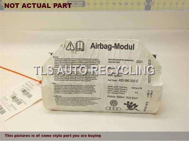 2007 Audi A8 AUDI Air Bag. PASSENGER DASH AIR BAG 4E0880203C