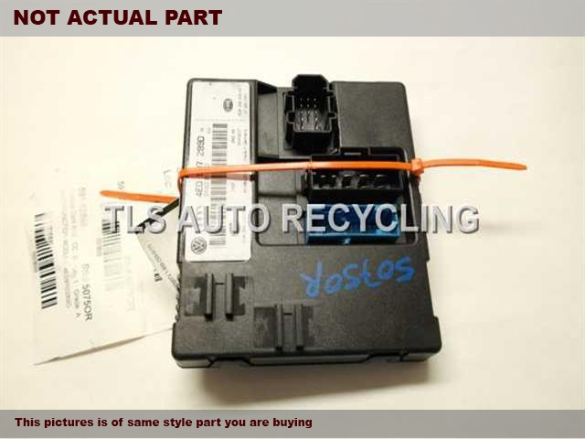 2007 Audi A8 AUDI Chassis Cont Mod. CENTRAL ELECTRIC POWER MODULE 4E0910289D MULTIFUNCTION MODULE