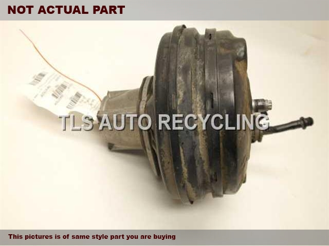 2007 Audi A8 AUDI Brake Booster. POWER BRAKE BOOSTER 4E1612107B