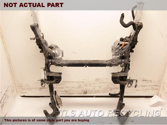2011 Audi A8 AUDI Sub Frame. FRONT, ENGINE AND SUSPENSION