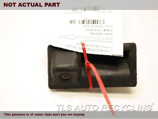 (REAR VIEW CAMERA), (LID MOUNTED),