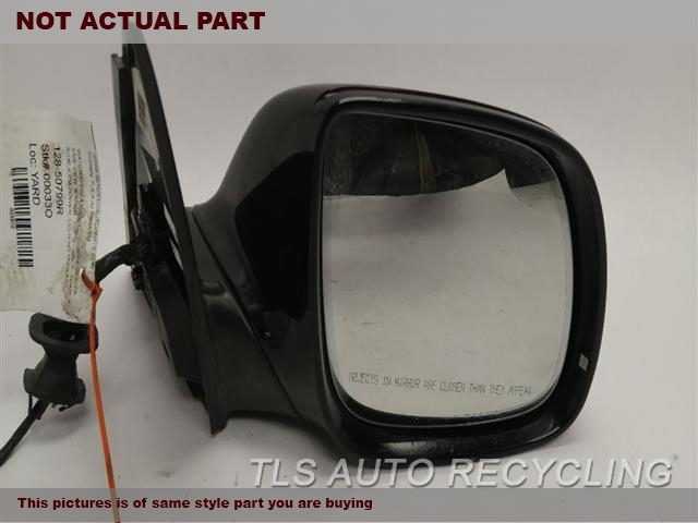 2010 Audi Q5 AUDI Side View Mirror. RH,BLK,PM,POWER, LIGHTING PACKAGE