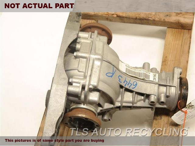 2009 Audi Q5 Audi Rear Differential  REAR AXLE, 3.2L, ID KHR
