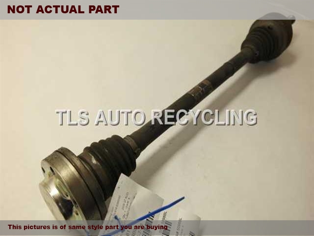 2008 Audi Q7 AUDI Axle Shaft. REAR CV AXLE SHAFT 7L8501201