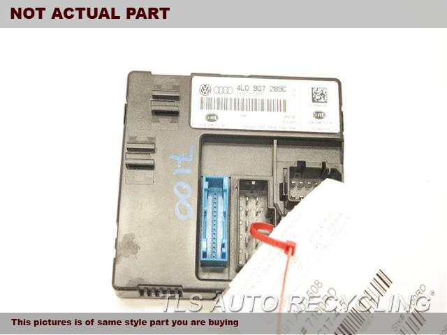 2008 Audi Q7 AUDI Chassis Cont Mod. 4F0907280DBOARD POWER SUPPLY CONTROL