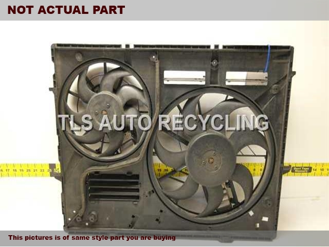 2008 Audi Q7 AUDI Rad Cond Fan Assy.  7L0959455G 7L0959455G 7L0121207DRADIATOR FAN ASSEMBLY 7L0959455F