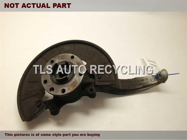 2008 Audi Q7 AUDI Spindle Knuckle, Fr. 7L8407258A 7L0498287PSSENGER FRONT SPINDLE KNUCKLE W/HUB
