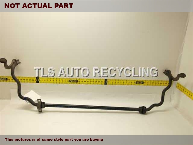 2009 Volkswagen TOUAREG Stabilizer Bar. REAR STABILIZER BAR 7L0511025B