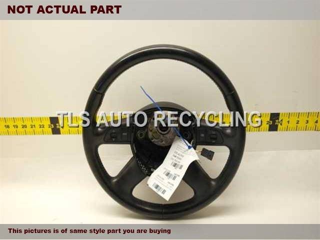 2008 Audi Q7 AUDI Steering Wheel. BLACK STEERING WHEEL 4E0419091CLW88