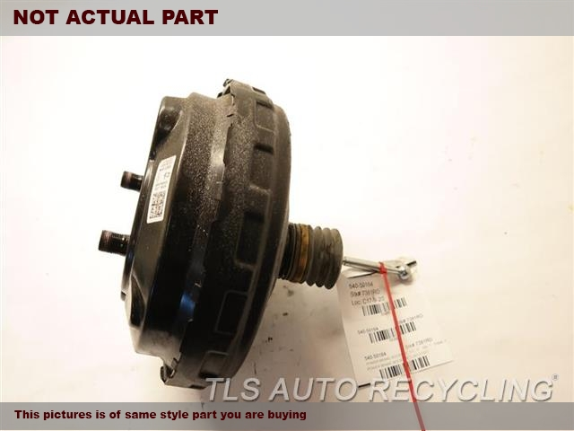 2008 Audi Q7 AUDI Brake Booster. POWER BRAKE BOOSTER 7L8612105D