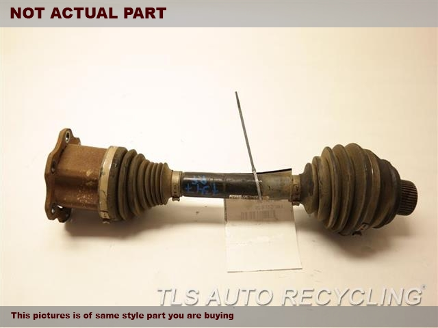 2010 Audi S5 AUDI Axle Shaft. FRONT AXLE SHAFT 8K0407271AJ